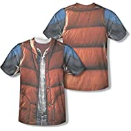 Marty McFly Back To The Future Costume T-Shirt -Mens 2XL