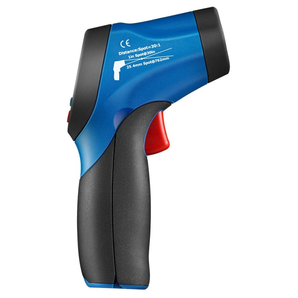 XUNHANG The Measurement Angle is Saved at Around 45-60 Industrial Non-Contact Thermometer, Infrared Thermometer, Temperature Gun Measuring Range: -50 ° C ~ 650 ° C Digital Temperature Gun by XUNHANG