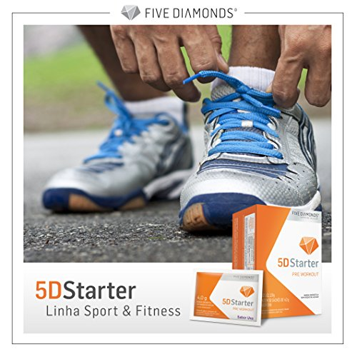 5D Starter Natural Grape Extract Powergrape ®, Pre Workout to Improve High Performance, Increase Energy, Strength, Enhance, Reduce Fadigue. NO GLUTEN. NO SUGAR 30 SACHETS x 4gr (Grape)