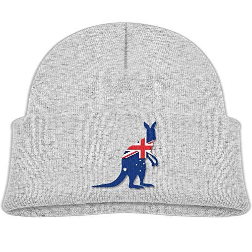 Knitted Hats Flag Australia Kangaroo Baby Beanies Cap Unisex Baby