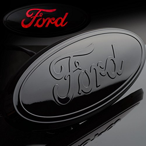 Ford Tailgate Emblem F150 Truck Rear Tailgate 9 � Emblem Black Finish Licensed Led Light Ford Logo