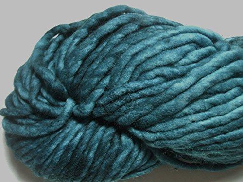 Malabrigo Rasta Teal Feather 412 Super Bulky 100% Merino Wool Yarn