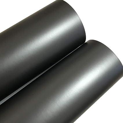 ORINO Matte Metallic Anthracite Vinyl Wrap Gunmetal Gray Car Wrapping Film  Covering Foil Air Bubble Free