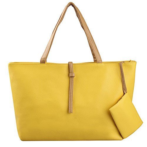 Hynes Victory Ladies Large Totes (Yellow)