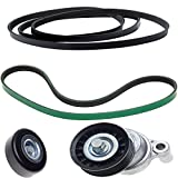 ACDelco ACK060935HD Professional Automatic Belt Tensioner and Pulley Kit with Tensioner, Pulley, and Belts