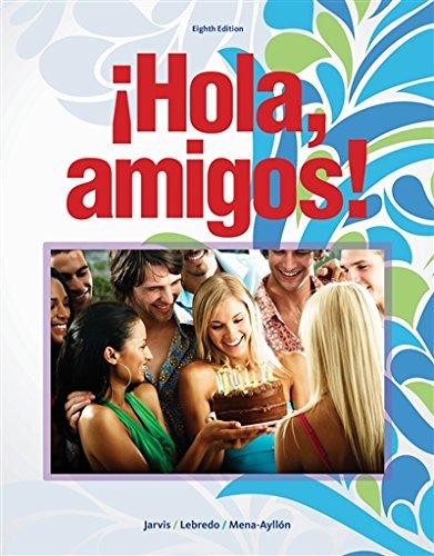 1133952216 - Hola, amigos! (World Languages)
