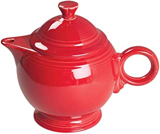 product image for Fiesta 44-ounce Covered Teapot, Scarlet