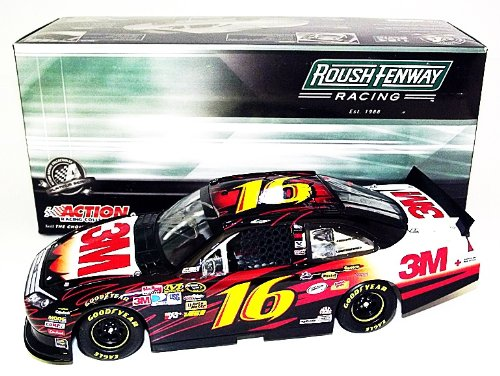 g Biffle #16 3M Innovation Racing Team (Roush) Signed 1/24 Lionel NASCAR Diecast Car with COA ()