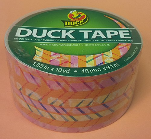 Duck Brand Pastel Chevron craft duct tape 1.88 inch by 10 yards, 1 roll (Duck Brand Pastel Duct Tape)