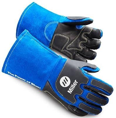 Miller 263350 Arc Armor Extra Heavy Duty MIG/Stick Welding Glove, Large
