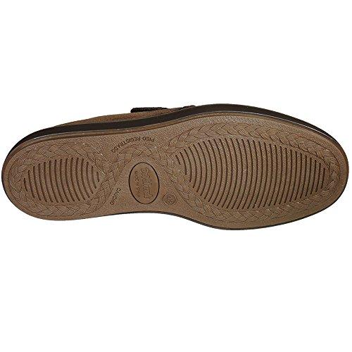 DEVALVERDE - Zapatilla Cerradas Y Velcro Para Calle - Modelo 4580 MARRÓN