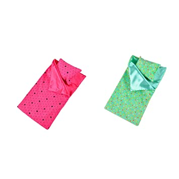 Amazon.es: Homyl 18 Plugadas Bolsa de Dormir con Almohada y Parches de Ojos de American Doll Girl Fashion: Juguetes y juegos