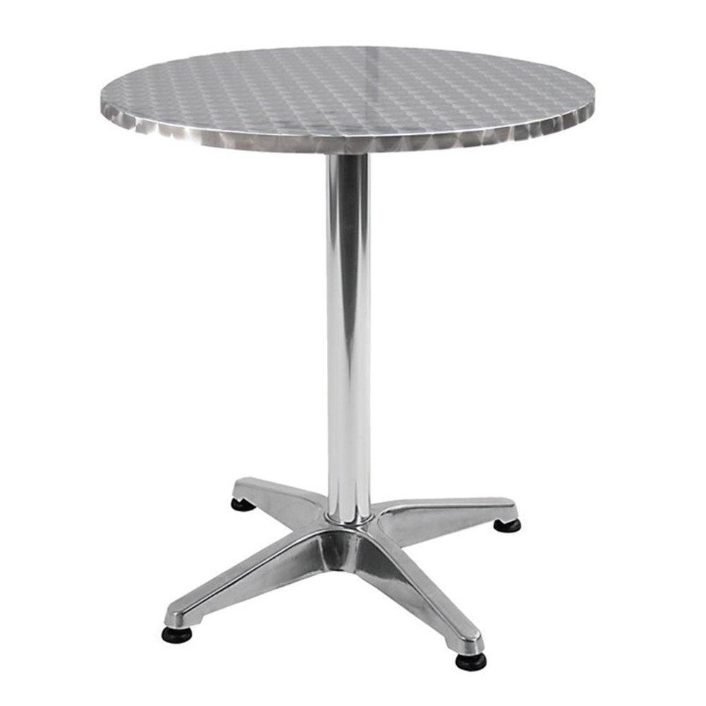 Tavolo tavolino bar ristorante in alluminio 60x70cm giardino ...