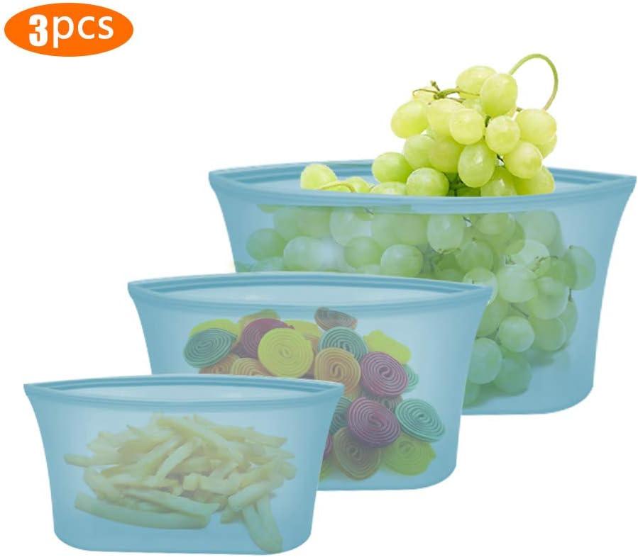 Stasher Reutilizable Alimentos Bolsa de Almacenamiento//Bolsa Silicona 19/cm x 12/cm 1,5/x 19/x 12/cm