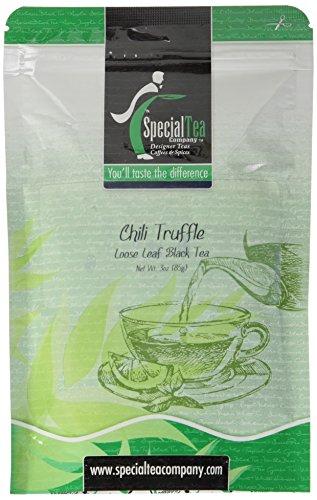 - Special Tea Chili Truffle Loose Leaf Black Tea, 3 Ounce