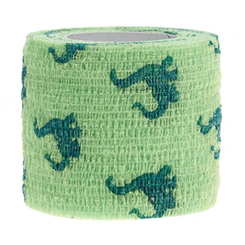 Medline Co-Flex Cohesive Flexible Elastic Bandage, Self-Adherent Compression Wrap, Latex Free, 3'' x 5 yard, Kids Pack Assorted Patterns (Pack of 24) by Medline (Image #3)
