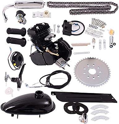 G Motor de la Bicicleta Kit 80cc 2 Stroke-Kit Bicicletas Asoline motorizado como Motor de la Bici del Motor: Amazon.es: Coche y moto