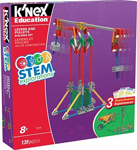 (K'NEX Education STEM EXPLORATIONS: Levers & PULLEYS Building Set Building Kit)