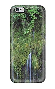 Unique Design Iphone 6 Plus Durable Tpu Case Cover Waterfalls Sending Screen Protector in Free