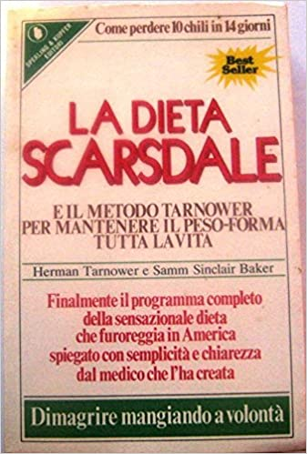 dieta scardale 10 chili in 14 giorni