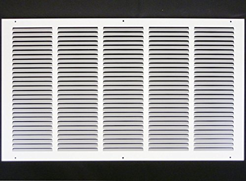 25''w X 16''h Steel Return Air Grilles - Sidewall and Cieling - HVAC DUCT COVER - White [Outer Dimensions: 26.75''w X 17.75''h] by HVAC Premium (Image #7)