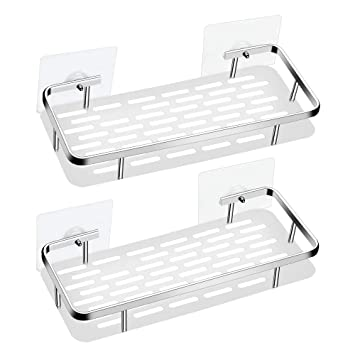 Soap Holder Wall-mounted Storage Case Drain Rack Stable Durable Kitchen Bathroom