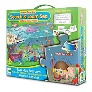 The Learning Journey Puzzle Doubles Search and Learn Sea Floor Puzzle