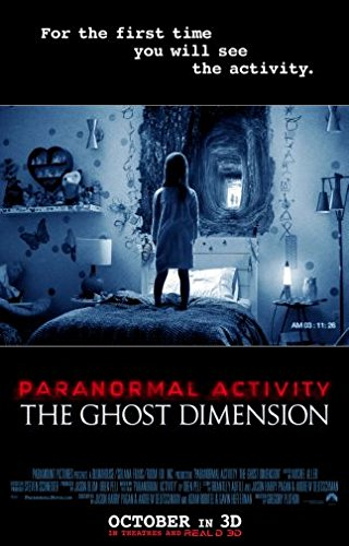 (24x36) Paranormal Activity Ghost Dimension Movie Poster Large 24 x 36 inches 61x91.5cms by Art's