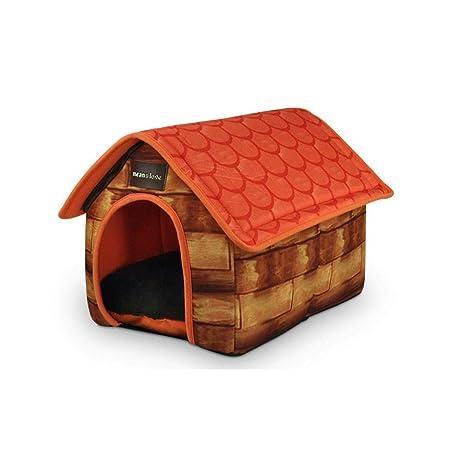 Suppet Nido de Mascotas extraíble y Lavable Cama para Mascotas Grandes Mascotas para Perros Suministros Villa