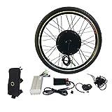 """Best Electric Bike Conversion Kits - 1000W Electric E Bike Conversion Kit 26"""" Front Review"""