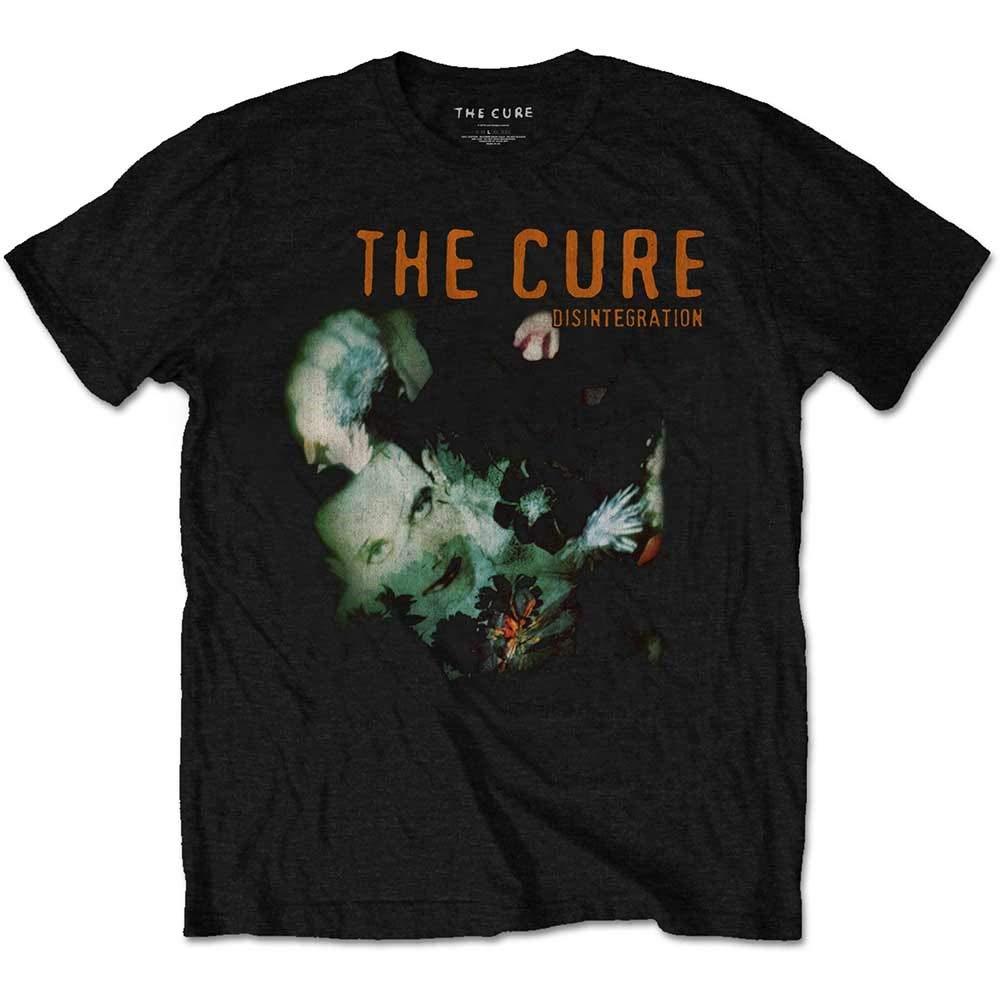 Official T Shirt The Cure Rock Punk 'Disintegration' Album Cover