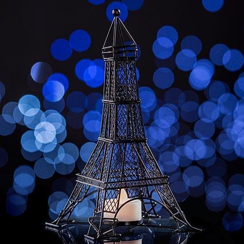 Eiffel Tower Tealight Candleholder (Eiffel Tower Candle Holder)