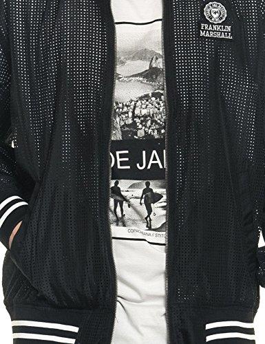 Jacket 100 Marshall Black Men's Franklin amp; Polyester Bomber Black Men's 4qUYU0w