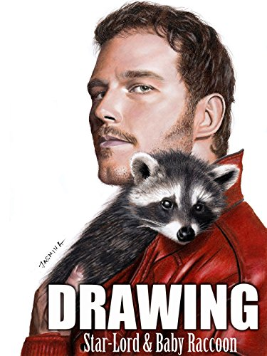 Clip  Drawing Star Lord   Baby Raccoon