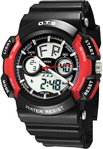 Youth outdoor sports watches/Fashion waterproof night electronic watch-K