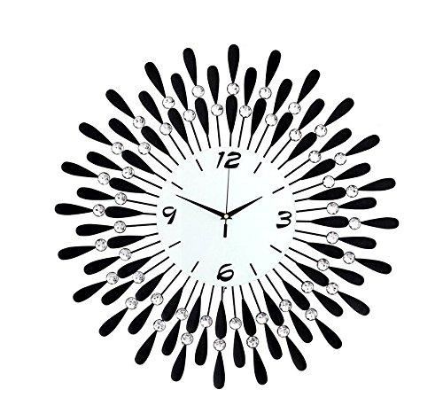 時計の壁時計のリビングルームのシンプルなヨーロッパのベッドルームのミュート現代の家庭のクォーツ時計 (サイズ さいず : 70 * 70cm) B07FPL6C6L 70*70cm 70*70cm