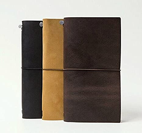 Amazon.com : Vintage Classic Crazy Horse Leather Sketchbook ...