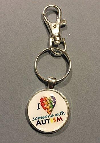 - Autism awareness keychain/zipper pull