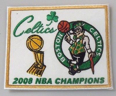 (Boston Celtics 2008 NBA Champions Embroidered Patch - 3.05