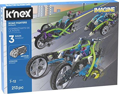(K'NEX Imagine - Road Fighters Building Set - 213Piece - Ages 7+ - Engineering Educational Toy Building Set (Amazon Exclusive))