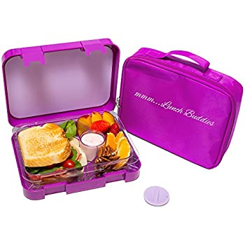 bentgo kids childrens lunch box bento styled lunch solution offers durable leak. Black Bedroom Furniture Sets. Home Design Ideas