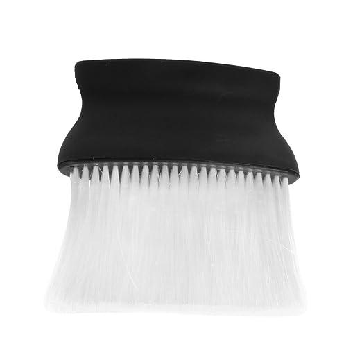 Nackenpinsel Hals Gesicht Duster Pinsel Friseur Bürste Haar Salon Kunststoff Hals Brush Beauty