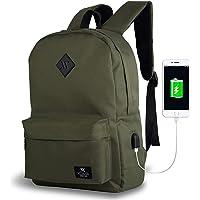 My Valice Smart Bag SPECTA Usb Şarj Girişli Akıllı Sırt Çantası Haki