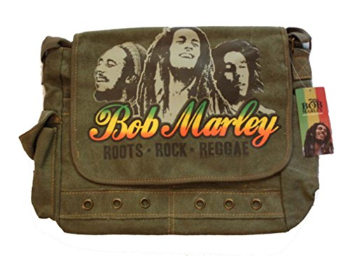 Reggae Bag - Bob Marley Roots Rock Reggae Messenger Bag