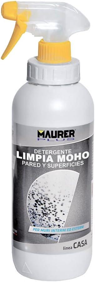 MAURER Limpiador Moho Pared y Superficies 1 Litro