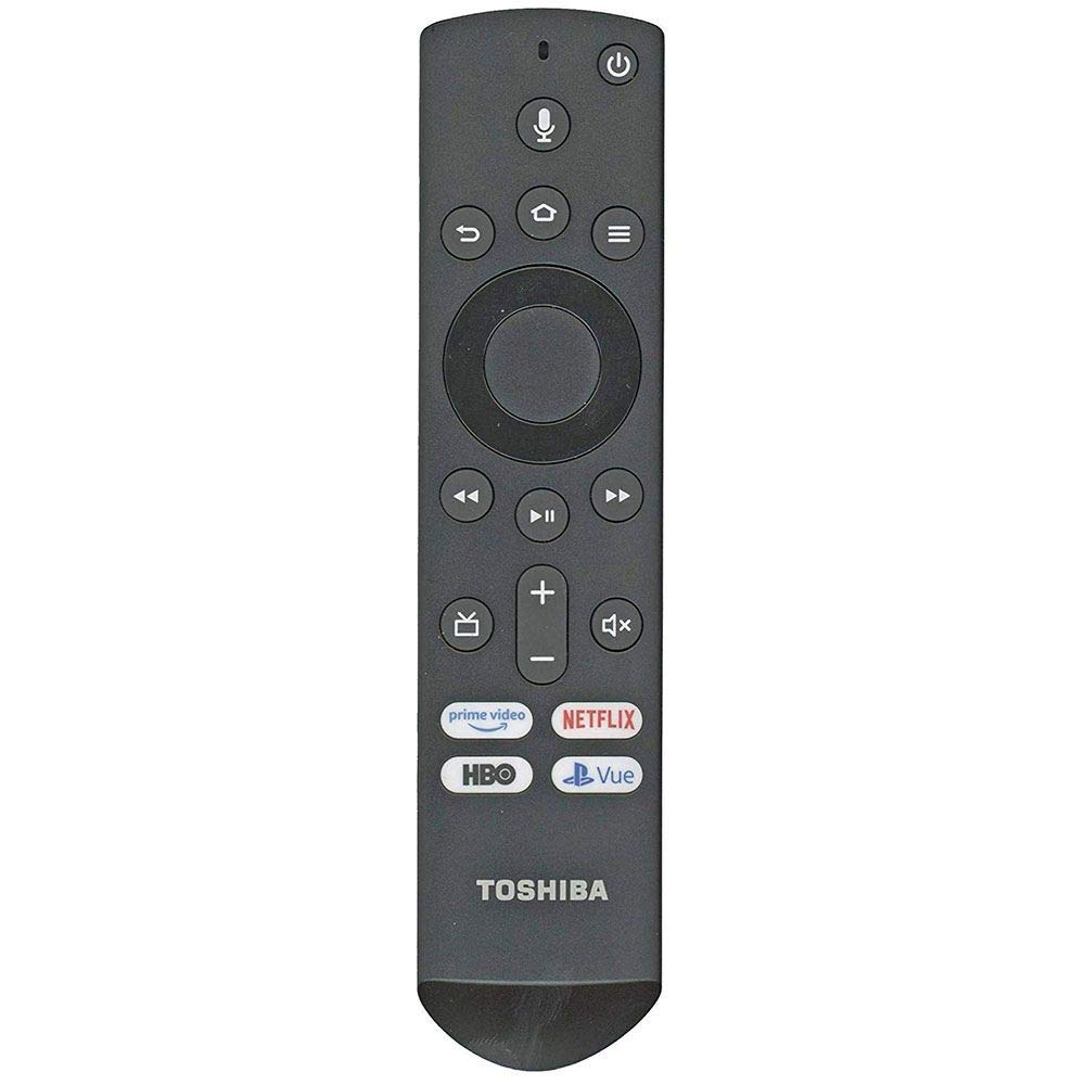 Toshiba CT-RC1US-19 / Insignia NS-RCFNA-19 Fire TV Remote Control [Original/OEM] - RF/Smart/Voice Remote Toshiba 50LF621U19 55LF621U19 50LED2160P 55LED2160P 49LF421U19 TF-50A810U19 (Renewed) by Anderic