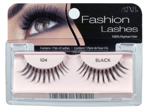 Ardell Fashion Lashes Pair - 104 Black (Pack of 4)