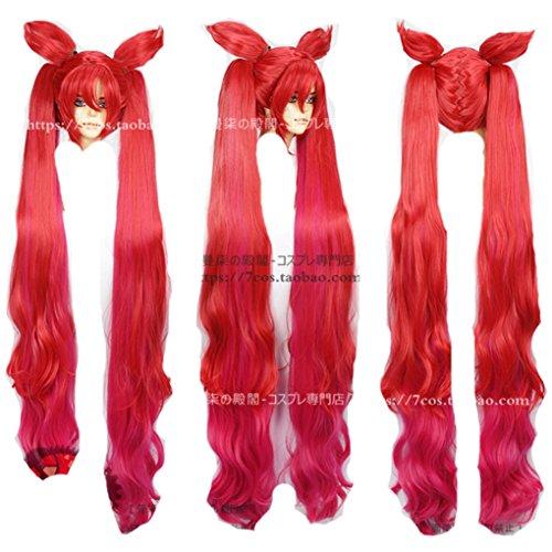 Jinx Costume League Of Legends - League of Legends jinx Red cosplay costume wig