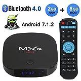 2018 Newest MXQ Mini Android 7.1 TV Box 2GB RAM+8GB ROM Support BT 4.0/HD/H.265/4K(60HZ)/Lan 100M