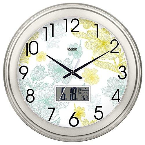 Amazon Com Fortunevin Wall Clock Silent Movement Wall